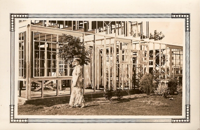 Homeowner Margaret Bowen in front of her Stran-Steel House